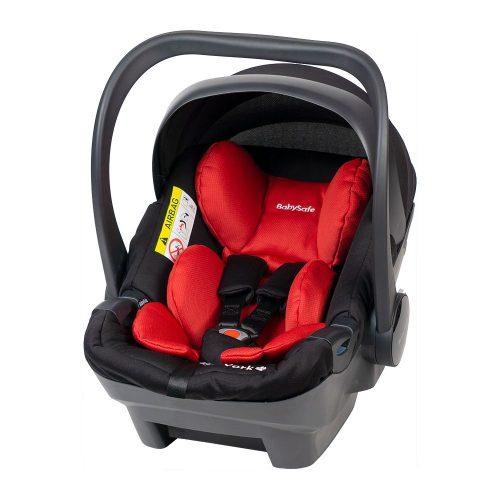 Fotelik samochodowy 0-13 kg Baby Safe York kolor Czerwony