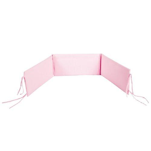 Ocharaniacz do łóżeczka 120x60 180x30 cm różowy Albero Mio