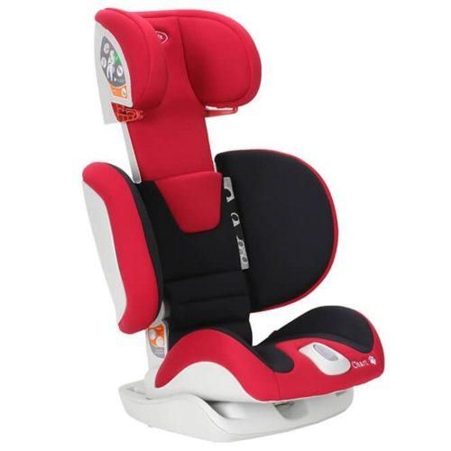 Fotelik samochodowy Chart 15-36 kg Babysafe fotelik z opcją złożenia kolor Czarny