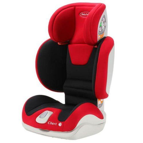 Fotelik samochodowy Chart 15-36 kg Babysafe fotelik z opcją złożenia kolor Czerwony