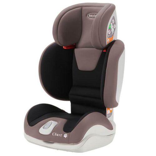 Fotelik samochodowy Chart 15-36 kg Babysafe fotelik z opcją złożenia kolor Beżowy