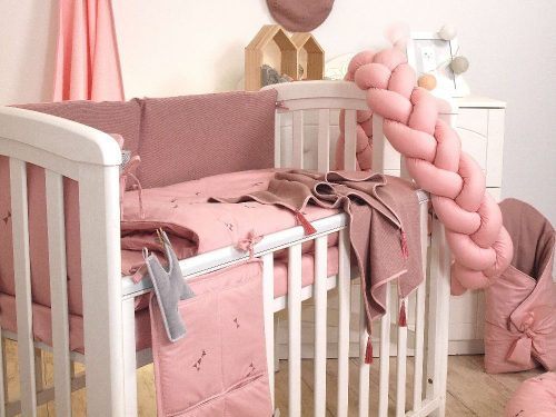 Warkocz ochraniacz do łóżeczka 210c, Pure Rose Amy