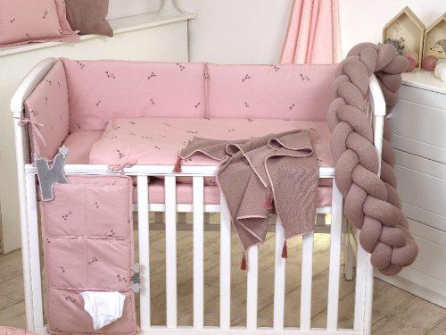 Warkocz do lóżeczka ochraniacz Pure Rose Amy sweterek