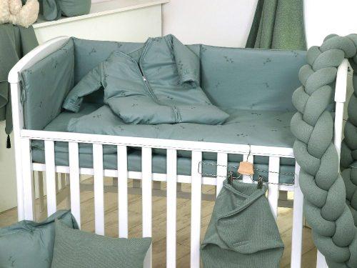 Warkocz do łóżeczka dziecięcego 210cm Pure Salvia sweterek Amy