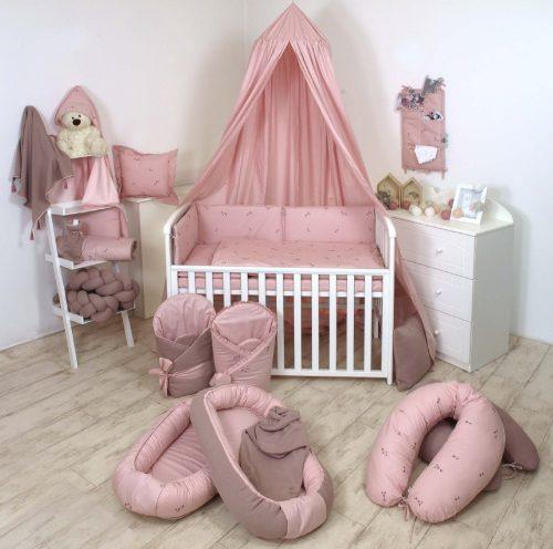 Kokon niemowlęcy z osłoną sweterek Pure Rose Amy