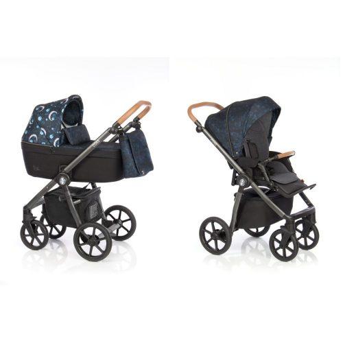 Elagancki i praktyczny wózek głęboko spacerowy 2w1 Roan Coss kolor Born To Shine