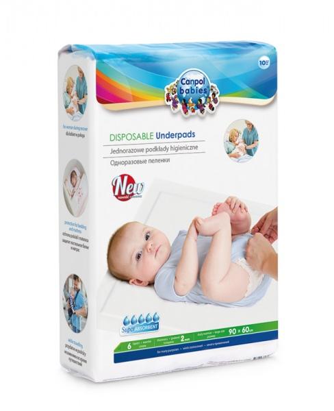Wielofunkcyjne podkłady jednorazowe Canpol Babies 10szt