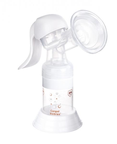 Laktator ręczny Basic firmy Canpol Babies babies