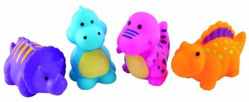 Canpol Babies zabawki do kąpieli 4szt. dinozaury