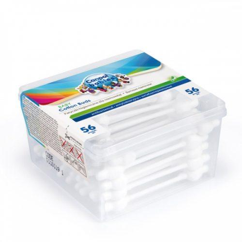 Patyczki higieniczne z ogranicznikiem 100% bawełny 56 szt. Canpol Babies