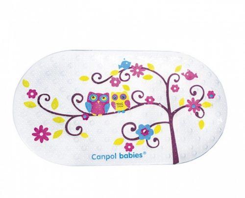 Antypoślizgowa mata do kąpieli Canpol Babies -Sowy