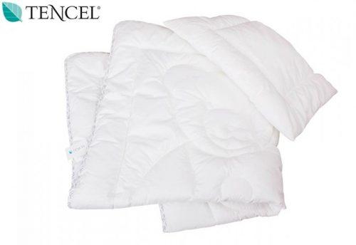 Kołderka + poduszka  wypełnienie pościeli 135x100 Tencel Gluck