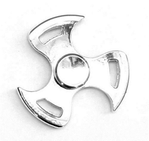 Spinner metalowy śmigło zabawka zręcznościowa Srebrny
