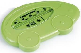 Bezrtęciowy termometr do kąpieli Canpol Babies Samochodzik Zielony