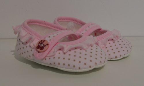Buty balerinki Ania Lafel 12 Różowy