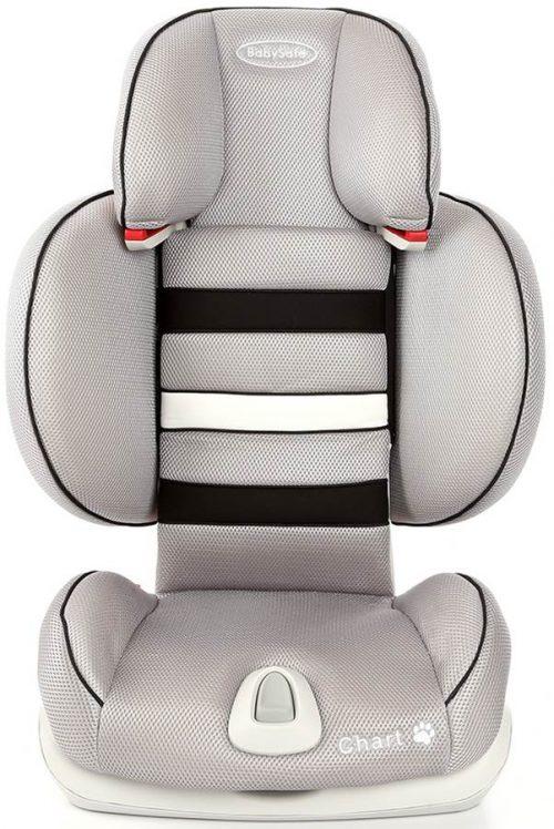 Fotelik samochodowy Chart 15-36 kg Babysafe fotelik z opcją złożenia kolor Szary