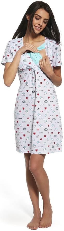 Koszula nocna dla kobiet karmiących lub ciężarnych Story 3, Cornette L