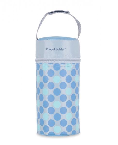 Termoopakowanie do butelek uniwersalne Canpol Babies Retro kolor Niebieski