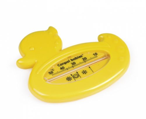 Bezrtęciowy termometr do kąpieli Canpol Babies Kaczuszka Żółta