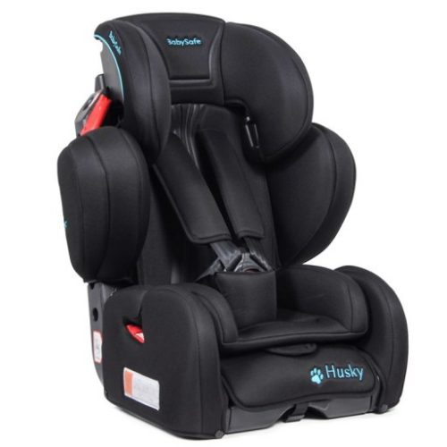 Fotelik samochodowy BabySafe Husky Limited 9-36 KG kolor Czarny plus mata ochronna gratis !