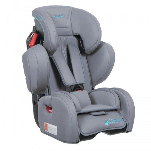 Fotelik samochodowy BabySafe Husky Limited 9-36 KG kolor Szary plus mata ochronna gratis !