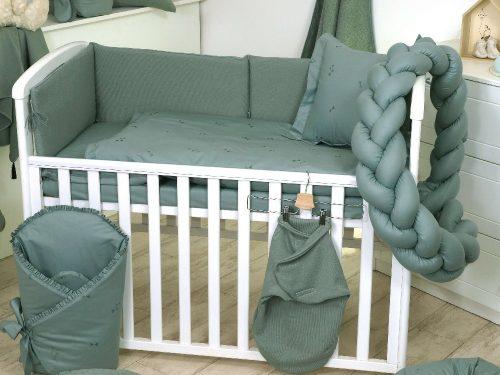 Warkocz ochraniacz do łóżeczka 210cm Salvia Pure Amy