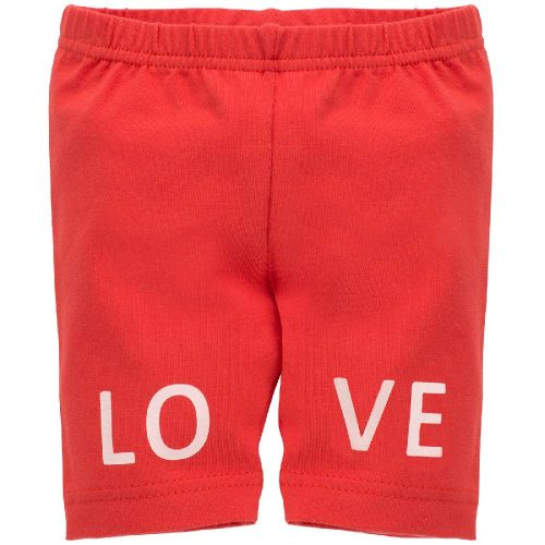 Pinokio leginsy krótkie love and love czerwony 62
