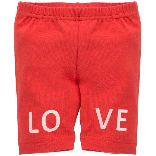 Pinokio leginsy krótkie love and love czerwony 98