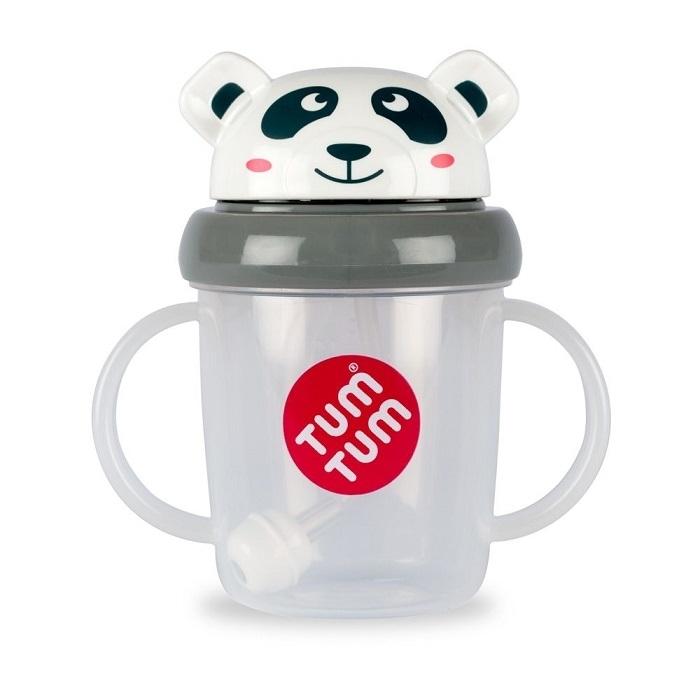 Tum Tum Weany Kubek z Rurką Panda Pip 200ml