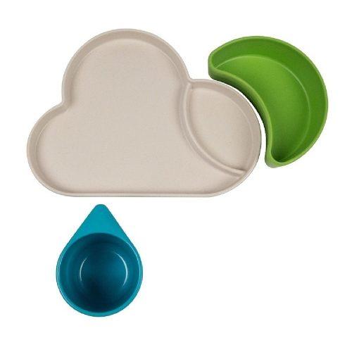Tum Tum Eco Zestaw Obiadowy Chmurka niebieski