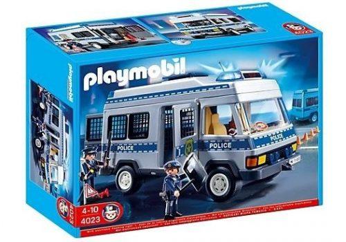 Playmobil Furgonetka policyjna 4023 opak. 34x24x13