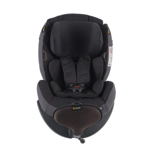 Fotelik samochodowy BeSafe IzI Plus X1 montowany tyłem do kierunku jazdy - Test Plus, kolor Czarny Melange 01
