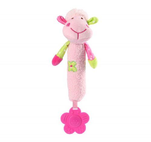 Piszczek z gryzakiem Sweet Lambie różowa Babyono