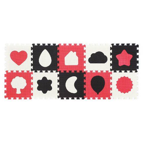 Puzzle piankowe 10 szt kształty Babyono