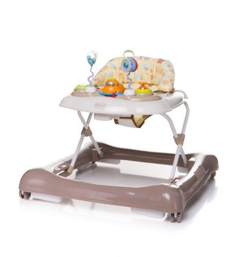 Chodzik dla dziecka 1st Steps 4 Baby kolor brązowy