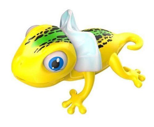 Jaszczurka z językiem magnetycznym Gloppy Lizard Silverlit 88566 żółta
