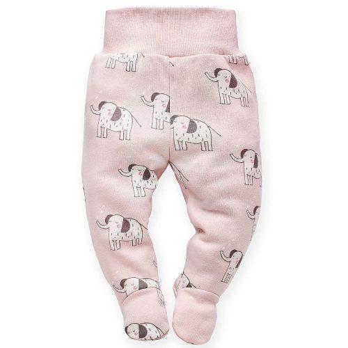 Półśpioszki niemowlęce półśpiochy Wild Animals Pinokio 62 Róż