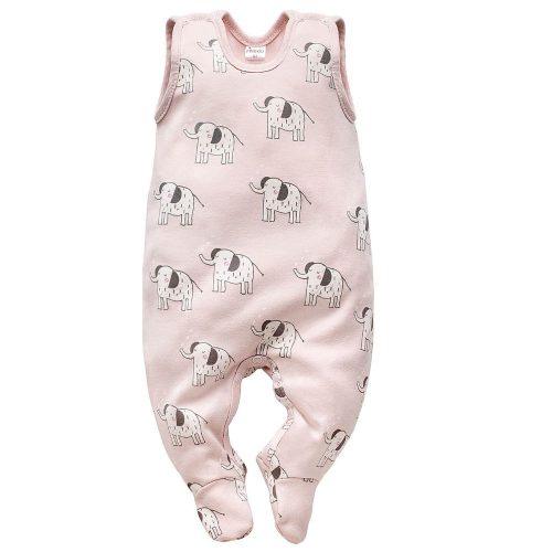 Śpioszki niemowlęce śpiochy Wild Animals Pinokio 68 Róż