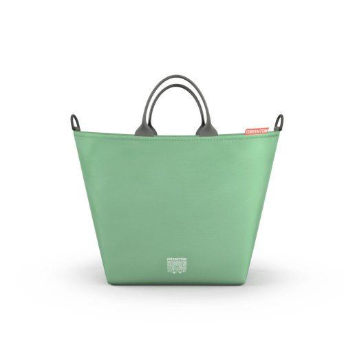 Torba zakupowa do wózka Greentom Classic, Reversible, Carrycot kolor Mint