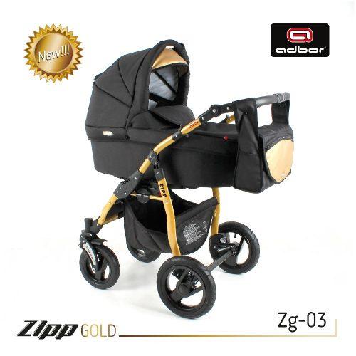 Wózek głęboko spacerowy ZIPP Gold 2w1 Adbor kolorystyka Zg 03