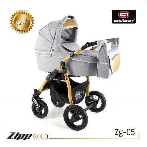 Wózek Adbor 2w1 głęboko spacerowy ZIPP Gold kolor Zg 05