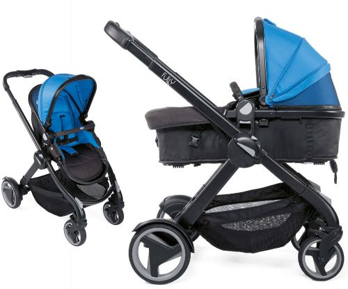 Wózek głęboko spacerowy Fully 2w1 Chicco power blue