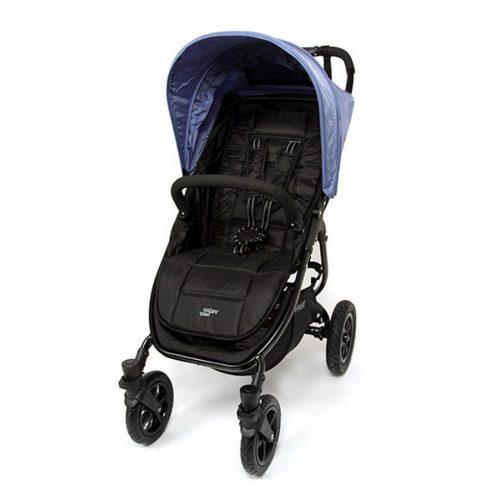 Wózek spacerowy Valco Baby Snap 4 Sport na pompowanych kołach, kolor Blue Opal Beauty