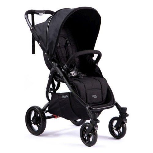 Lekki wózek spacerowy 6,6 kg Valco Baby Snap 4 kolor Coal Black + GRATIS