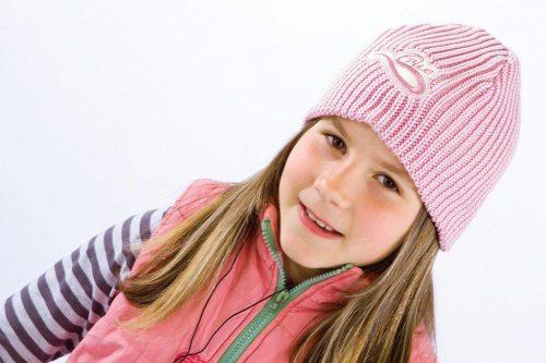 Czapka dla dziecka style For You_52_Łososiowy