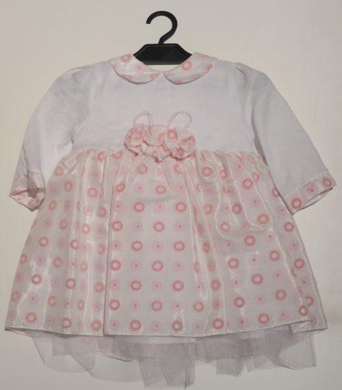 Sukienka dla dziewczynki do chrztu Krasnal