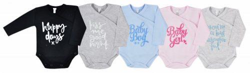 Body rozpinane dla niemowląt Kiss Me Koala Baby 62 Błękitny