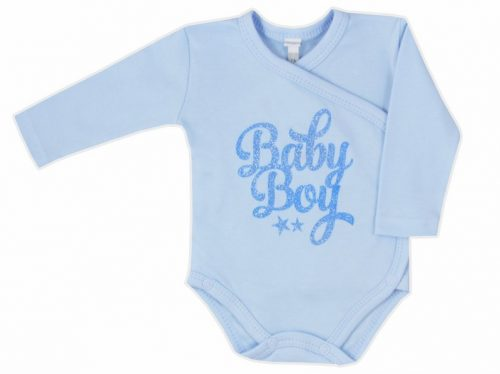 Body rozpinane dla niemowląt Kiss Me Koala Baby 68 Błękitny