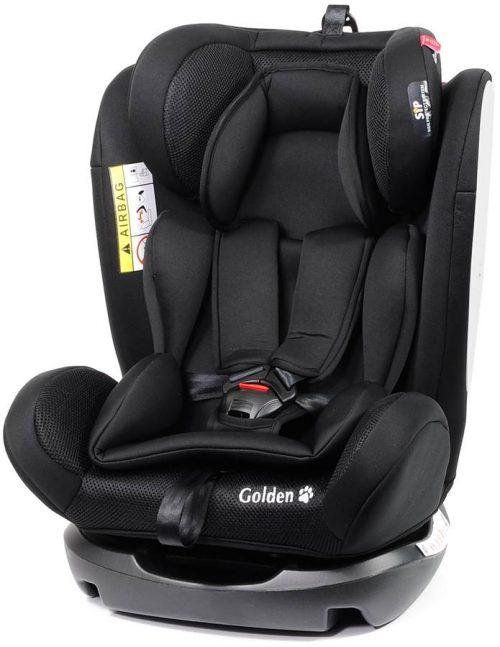 Fotelik samochodowy Baby Safe Golden 0-36 kg przodem i tyłem do kierunku jazdy kolor Czarny