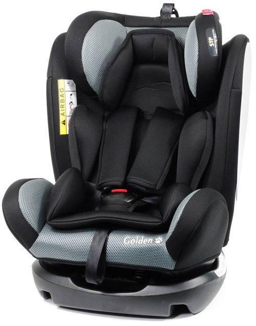 Fotelik samochodowy Baby Safe Golden 0-36 kg przodem i tyłem do kierunku jazdy kolor Szary